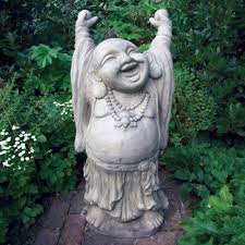 garden buddha statue. Interesting Statue Large Garden Sculpture  Juggling Stone Buddha Statue For