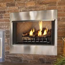 heat glo outdoor lifestyles villa 42 gas fireplace