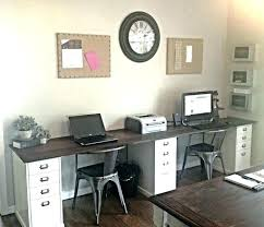 home office with two desks. Two Person Office Design Impressive Ideas Desk Home Furniture For With Desks