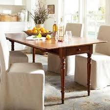 adams dining table room and board. drop-leaf table - pottery barn adams dining room and board