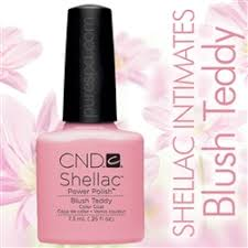 In Stock! <b>CND Shellac</b> 2013 <b>Intimates</b> Collection / <b>Blush</b> Teddy