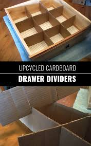 upcycled cardboard drawer dividers arealhousewifeofnyc diy closet organization ideas for messy closets and small spaces organizing s and homemade