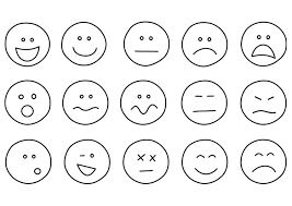 Coloring Page Emotions Teaching Ideas Emotion Faces Emoji