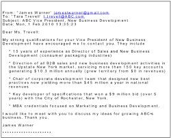 Formatted Sample Email Cover Letter Example How To Write A Cover