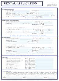 Generic Rental Application Form Jordanm Co