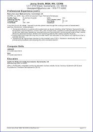 Job Description Resume Samples Sample Travel Nursing Resume Page 3