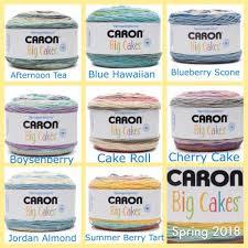 Caron Cakes Color Chart Caron Big Cakes Summer 2018 Caron Cakes Big Cakes