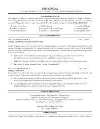 Personal Training Resume Sample Training Resume Objective Resume