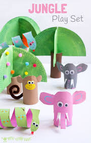 Preschool toilet Special Needs Preschool Jungle Crafts Inspirational Jungle Scene Playset From Toilet Paper Roll Crafts Crafts On Whim Preschool Jungle Crafts Inspirational Jungle Scene Playset From