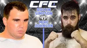 Fight: CFC 1 Dustin Simpson vs Mike Johnson - YouTube