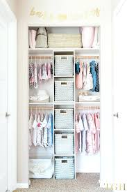 nursery closet ideas organization and tips baby boy 1