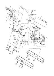 1996 yamaha wave raider 760 ra760u steering 1 parts best oem rh bikebandit