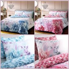 details about bold painted fl luxurious duvet covers summer design reversible bedding sets