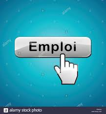 french translation for job web button concept stock photo royalty french translation for job web button concept