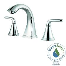 brushed chrome bathroom faucets. Widespread 2-Handle Bathroom Faucet In Polished Chrome Brushed Faucets R