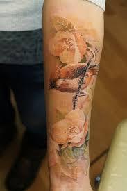 15 No Line Flower Tattoos You Must Love Věci Které Chci Koupit