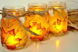 autumn leaf mason jars4
