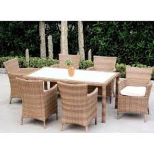 cane dining furniture