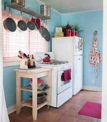 Pink Small Kitchen Appliances White Appliances For Small Kitchen With Pink Shades And Soft Blue