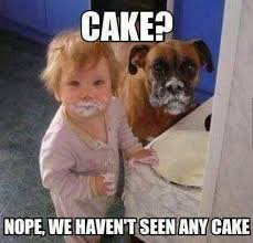 25 really adorable baby and dog memes