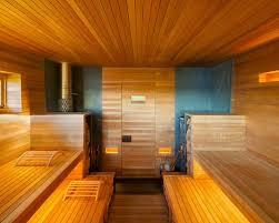 Minimalist sauna photo in New York