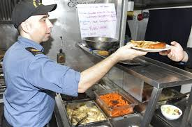 Navy Cook Hmcs Whitehorse Cooks Serve Up Delectable Morale