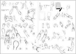 絵漫画で描くのが面倒な手フリー素材公開するから使ってどうぞな