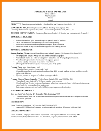 12 Teacher Resume Objectives Apgar Score Chart