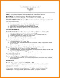 12 Teacher Resume Objectives Apgar Score Chart