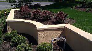 Stucco Retaining Wall Design Cinder Block Retaining Wall With Stucco Stucco Tech