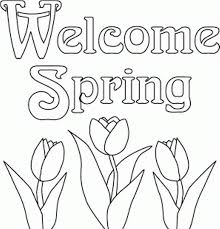 Flower Coloring Pages Flowers Spring Coloring Pages Preschool