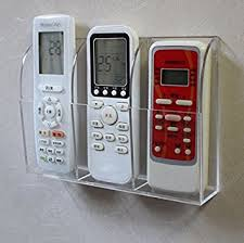 Image is loading TV-Air-Conditioner-Remote-Control-Wall-Mount-Holder-