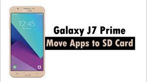 Samsung Galaxy J7 Prime 2017 - How to Move Apps to the SD Card - YouTube
