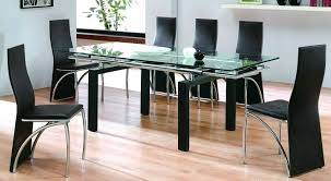 dining table set designs glass top fabulous dining room sets glass top round glass dining table