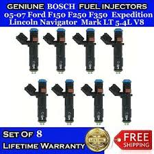 Details About 8x Upgrade Oem Bosch Fuel Injectors For 05 07 Ford F150 F250 F350 Navigator 5 4l