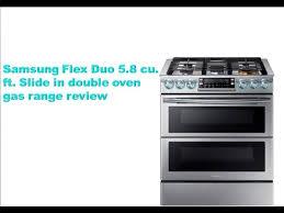 double oven gas range reviews. Exellent Oven Slide In Double Oven Gas Range Review NX58K9850SS In Double Oven Gas Range Reviews S