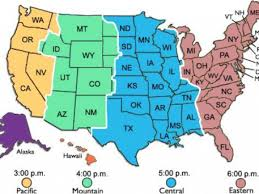 Time Zone Map U S A Time Zone Baffin Island Us Map Showing
