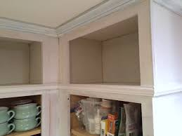 extending the cabinets to the ceiling little red brick house