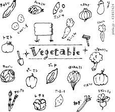 なす 白バック 白黒 野菜のイラスト素材 Pixta