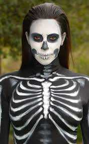 celeb skeleton makeup here s how to do it