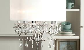 chandelier with shade and crystals top bang up drum chandelier shades stunning fabric shade chandeliers lamp chandelier with shade