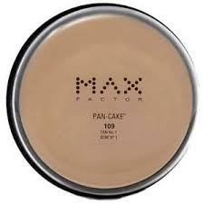 Max Factor Pan Cake 109 Tan 1 Authentic Full Size Usa