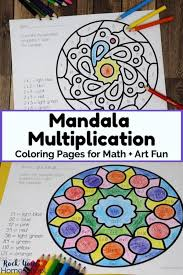 Math Is Fun Multiplication Chart How To Make Math Art Fun With Mandala Multiplication
