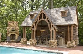 Outdoor Kitchen Fireplace Find These Exciting Outdoor Kitchen Designs