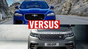 jaguar f pace vs range rover velar