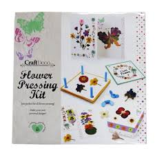 Flower Pressed Paper Creative Flower Pressing Kit Make Your Own Personal Designs