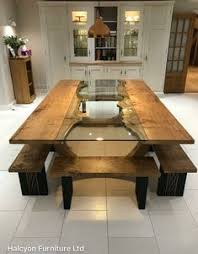 absolutely love this for the new dining room instead of a bench would want chairs though
