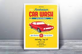 fundraising flyer templates psd vector eps jpg fundraiser car wash flyer