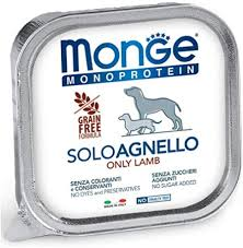 <b>Monge Monoprotein Solo</b> Lamb Wet Food for <b>Dogs</b> 12x150gr ...