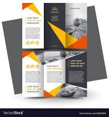 Free Download Brochure 011 Template Ideas Brochure Design Creative Tri Fold Vector